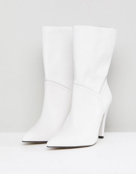 janelle monae white leather asos boots
