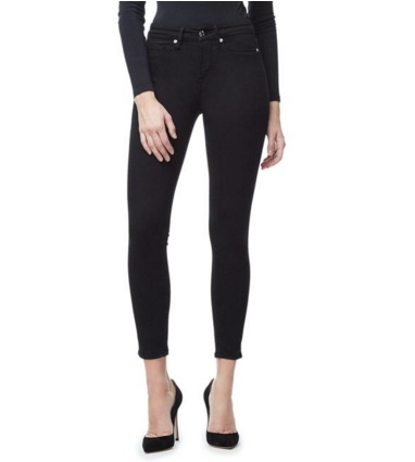 Good American Good Legs Crop black jeans