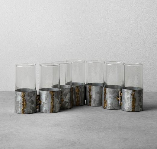 Hinged Metal Bud Vase