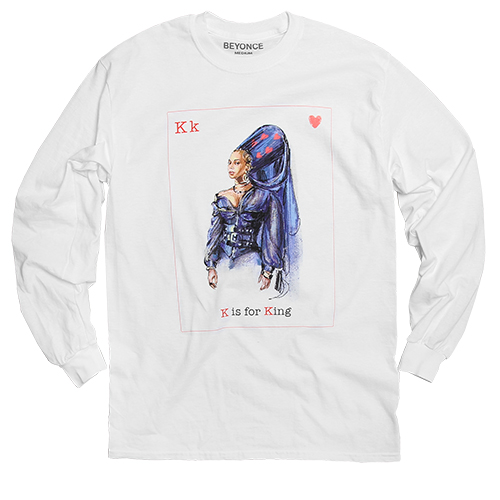 beyonce valentine's day long sleeve tee