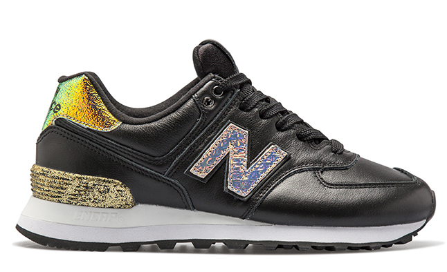 new balance glitter punk 574 black