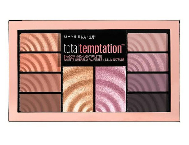 maybelline eyeshadow highlight palette