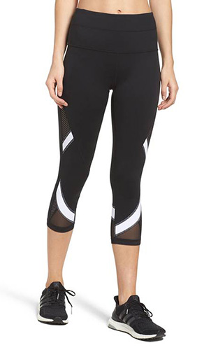 Zella Waist Crop Leggings