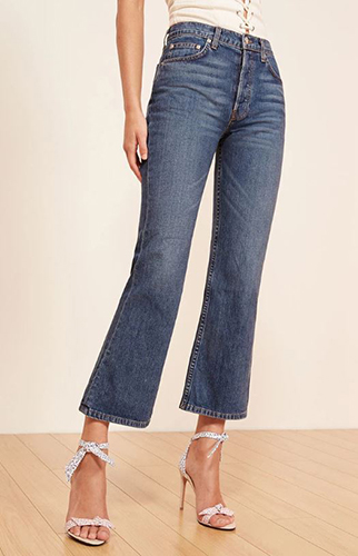 reformation mid-crop-flare-jeans