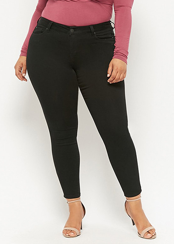 Forever 21 Plus Size Mid-Rise Jeans
