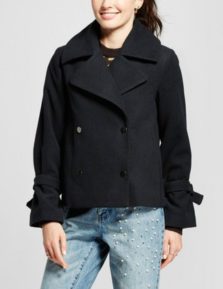 Target Who What Wear Peacoat