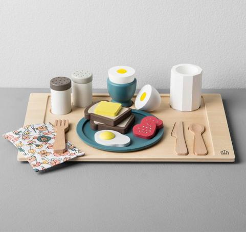 Wooden Toy Breakfast Set