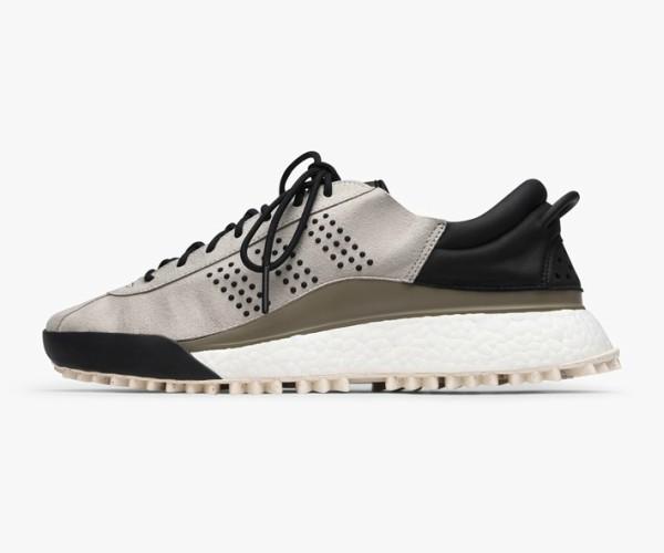Adidas Originals By Alexander Wang Hike Suede & Leather Sneaker