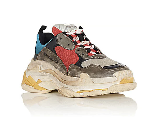 Balenciaga Triple S Clear Sole Sneakers Farfetch com