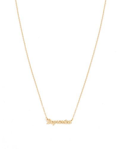depression necklace