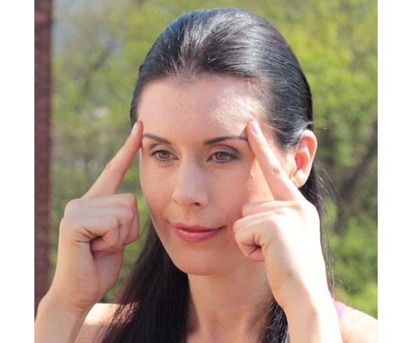 face yoga poses