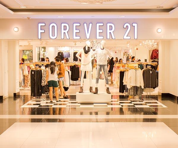 forever 21 store