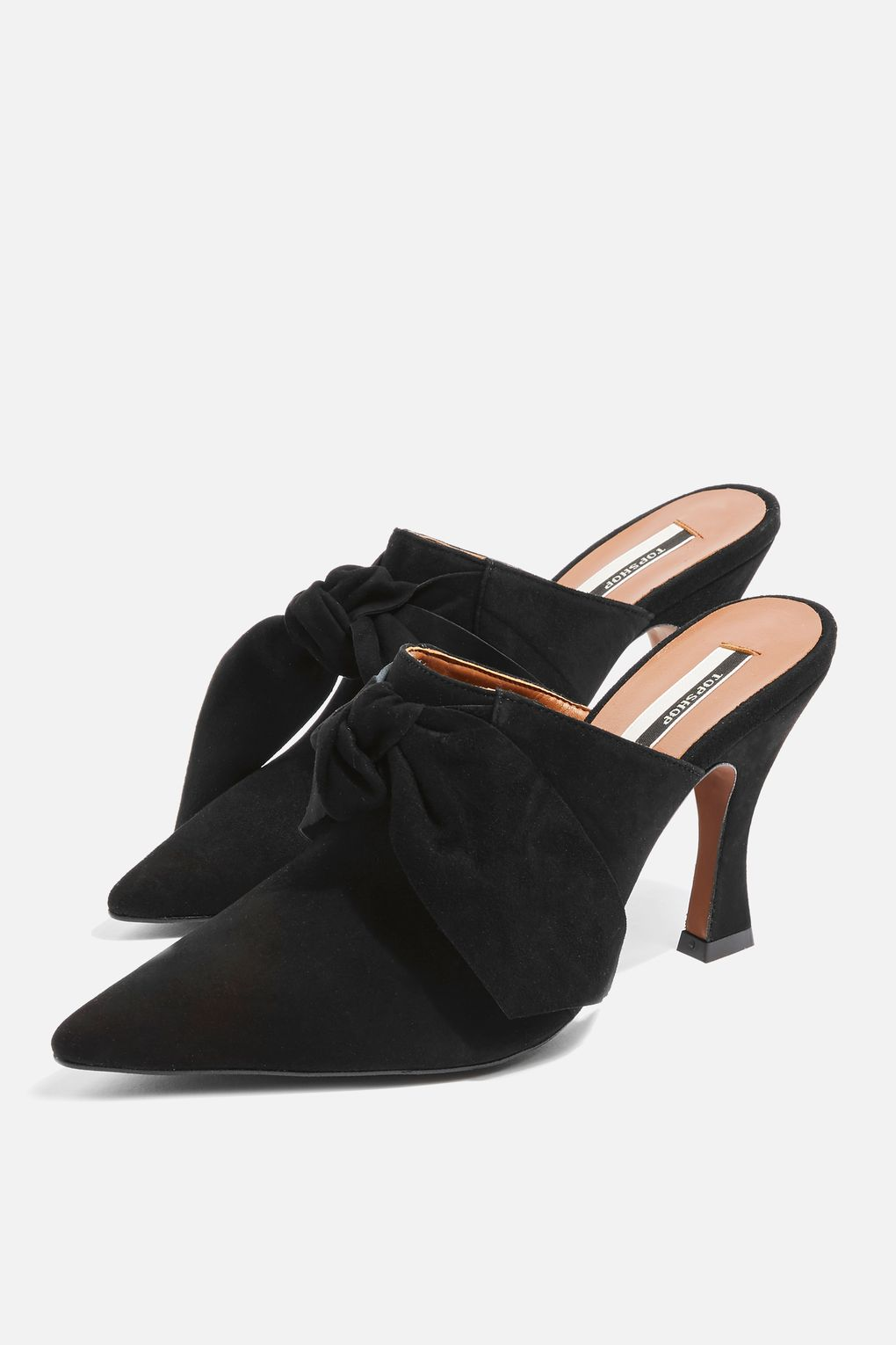 topshop galaxy flare heel mules