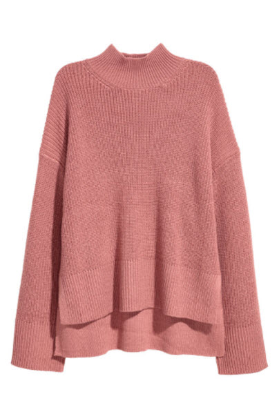 hm knit wool blend sweater