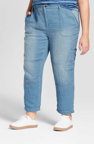 universal thread cropped jeans