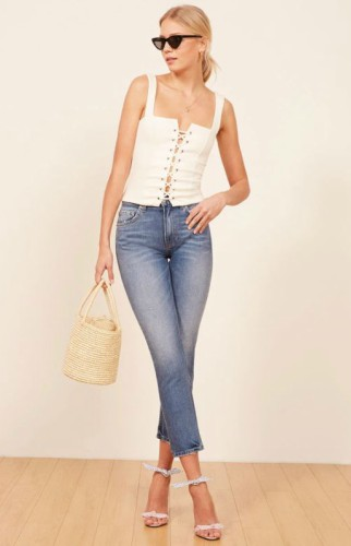 julia crop high waisted