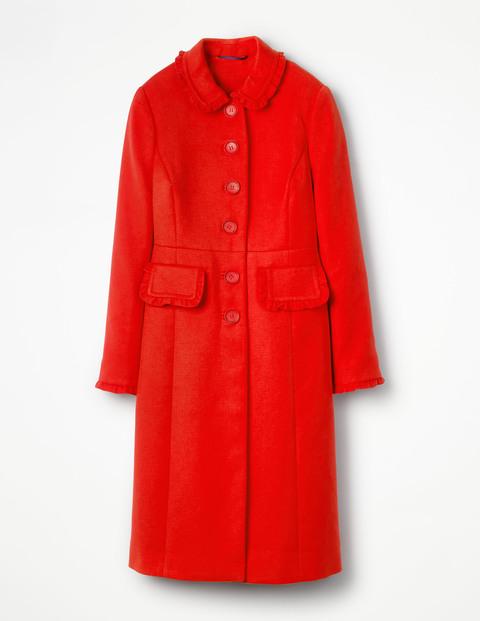 kate middleton red boden lena coat