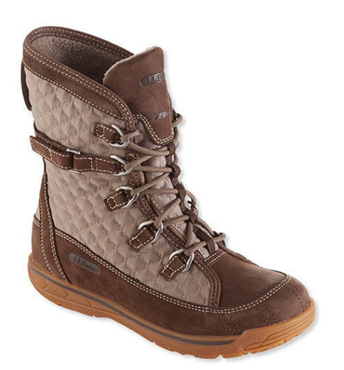 l.l. bean snow peak waterproof boots mid