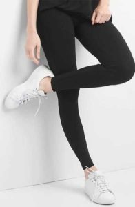 gap black leggings
