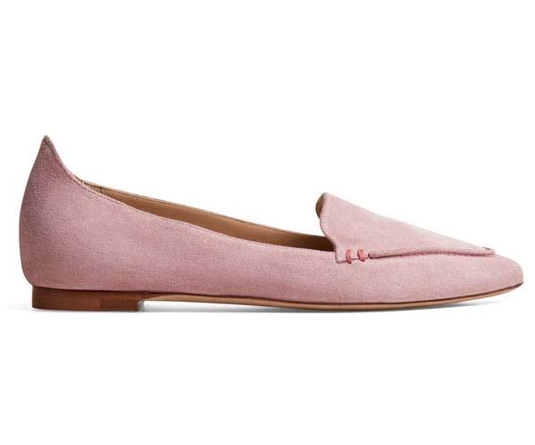 m gemi stellato sacchetto dusty pink