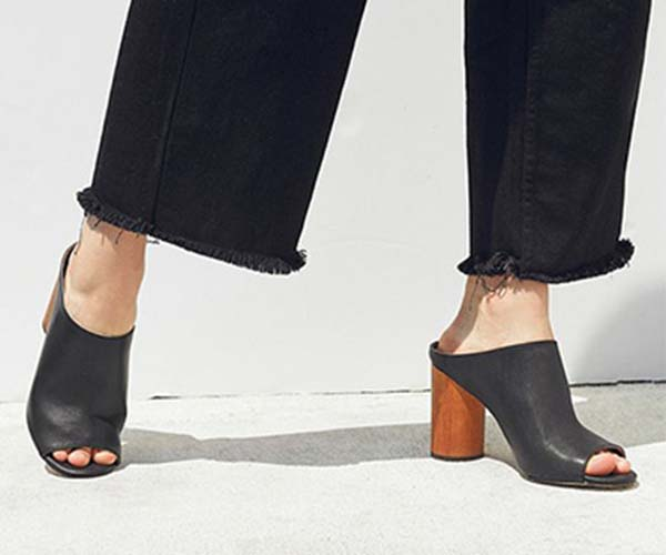 urban outfitters mules work heels