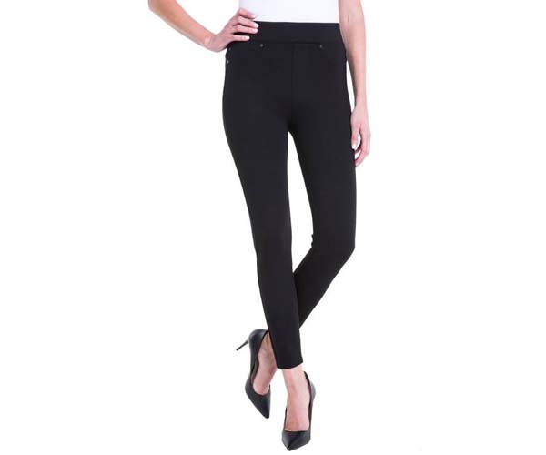 liverpool jeans company pull-on ankle leggings