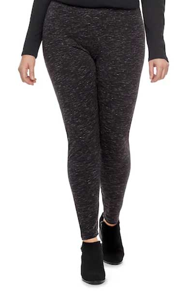 kohl's plus size leggings