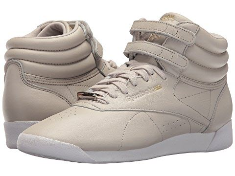 reebok freestyle hi muted sandstone