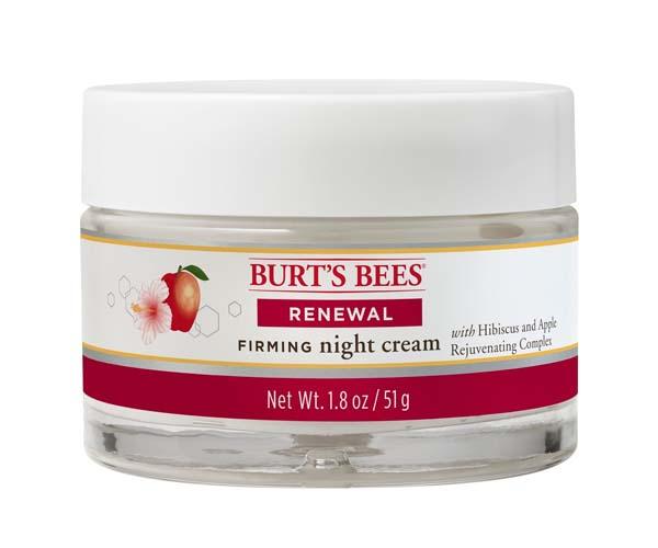 Burt's Bees Renewal Firming Night Cream ($14.09)