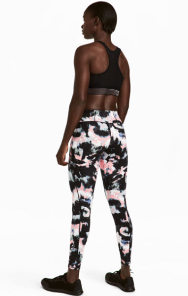 hm sports tights shaping waist leggings