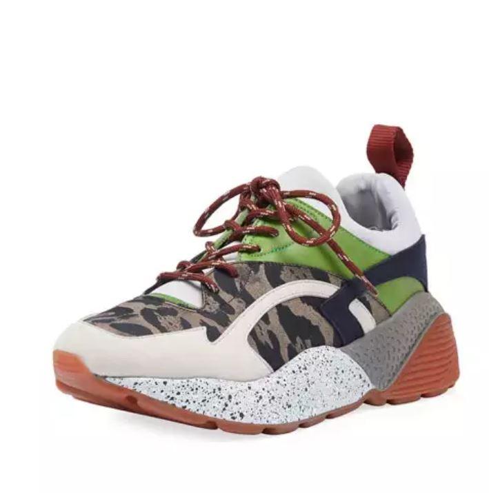 Stella McCartney Runway Leo Lace-Up Sneaker