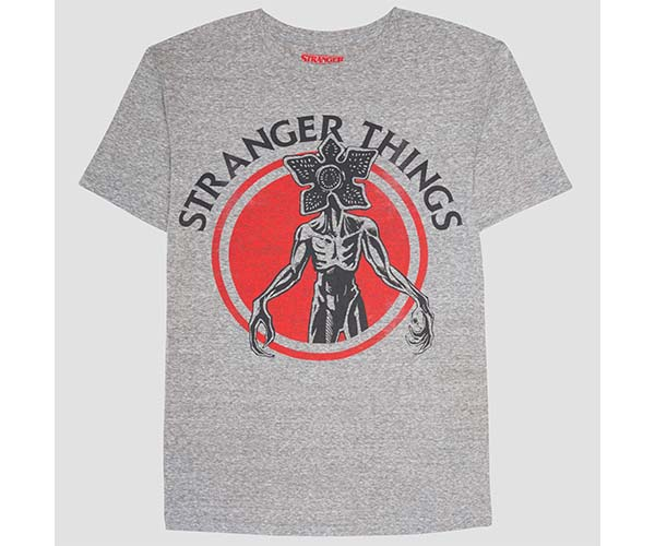 stranger things graphic tee