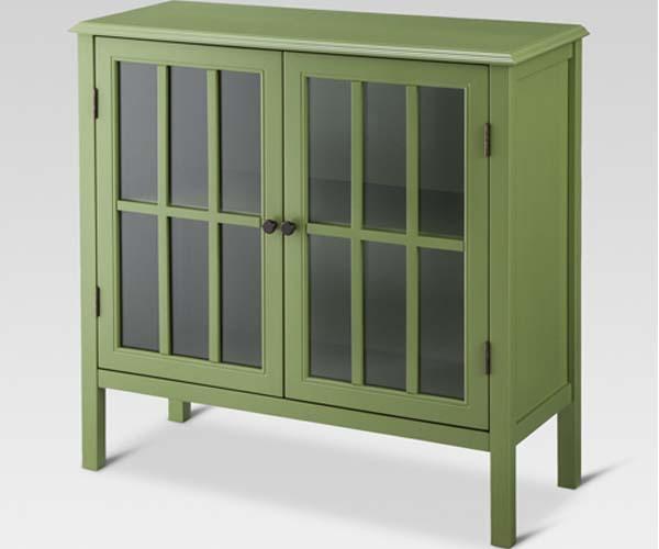 target 2 door cabinet