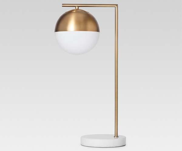 target gold marble desk lamp