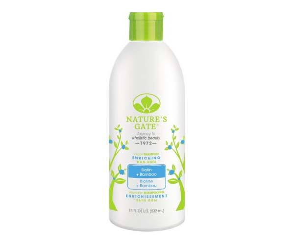 natures gate thinning hair shampoo