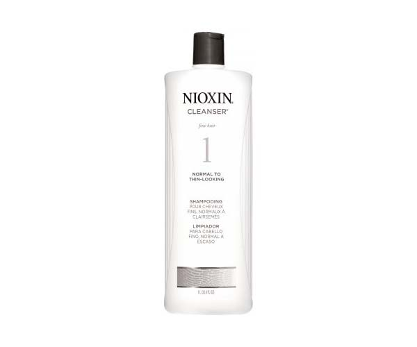 nioxin system hair cleanser