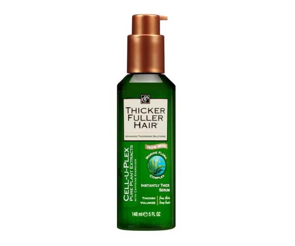 thicker fuller hair serum