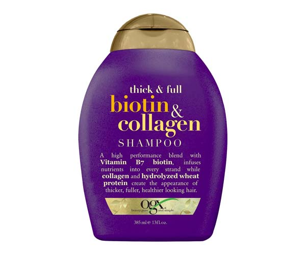 ogx biotin and collagen shampoo
