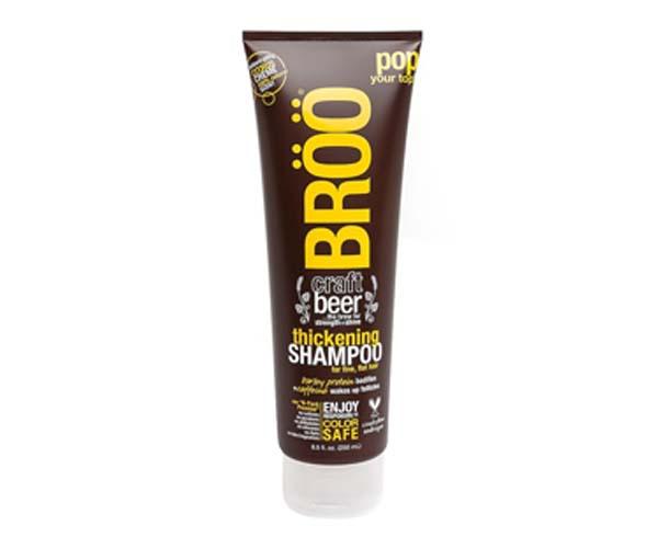 broo thickening shampoo