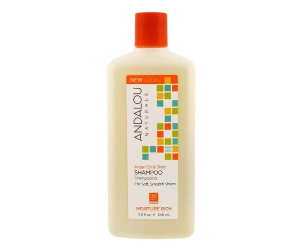 andalou naturals argan oil and shea moisture shampoo