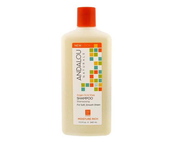 andalou naturals argan oil and shea moisture shampoo