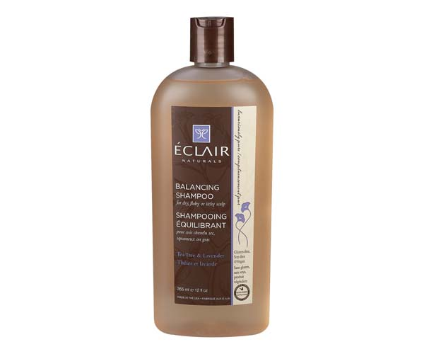 eclair naturals tea tree and lavender balancing shampoo