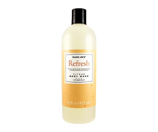 Trader Joe's citrus body wash
