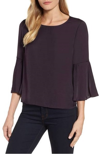 belle sleeve top