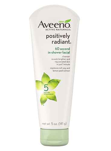 aveeno active naturals positively radiant facial