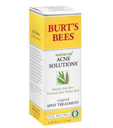 burts bees acne solutions spot treatment