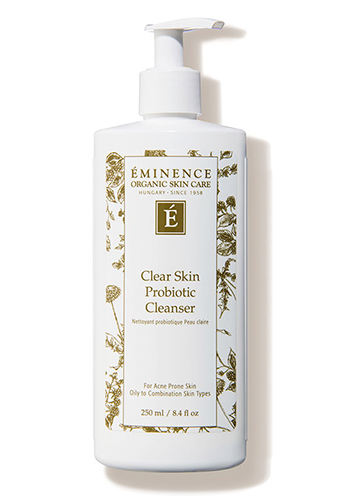 eminence skincare clear skin probiotic cleanser