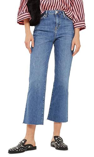 Dree Crop Flare Jeans