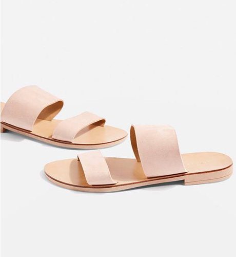 Happy Suede Sandal