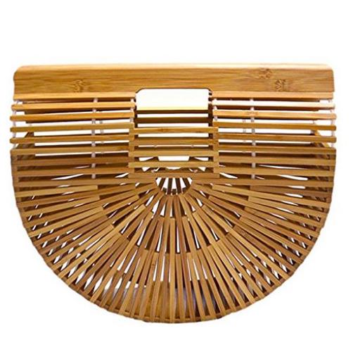 Bamboo Handbag Handmade Large Tote Bag